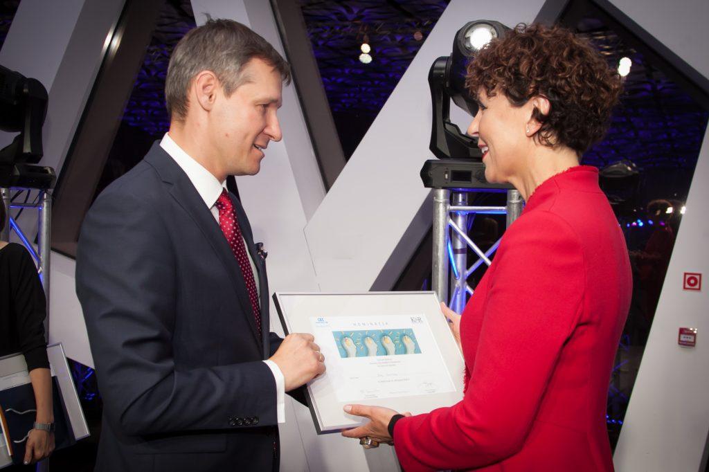 Nominację do pracy w grupie roboczej z rąk Prezesa Krzysztofa Burnosa otrzymała także Ewa Sowińska, zastępca prezesa KRBR i przewodnicząca Komisji ds. szkoleń