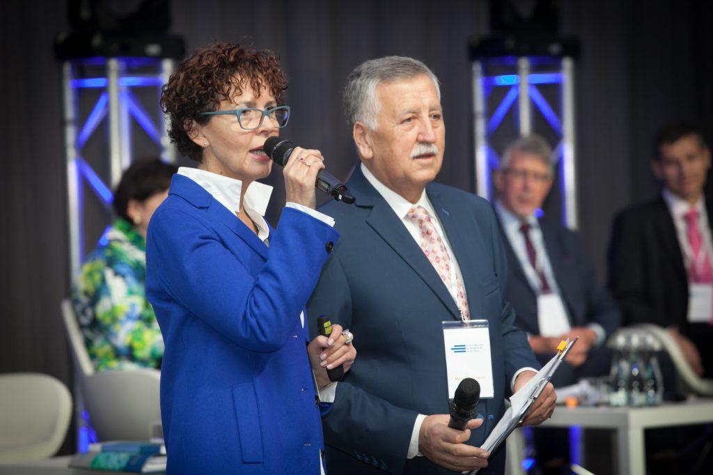 Panel prowadzili wspólnie Ewa Sowińska i Maciej Ostrowski
