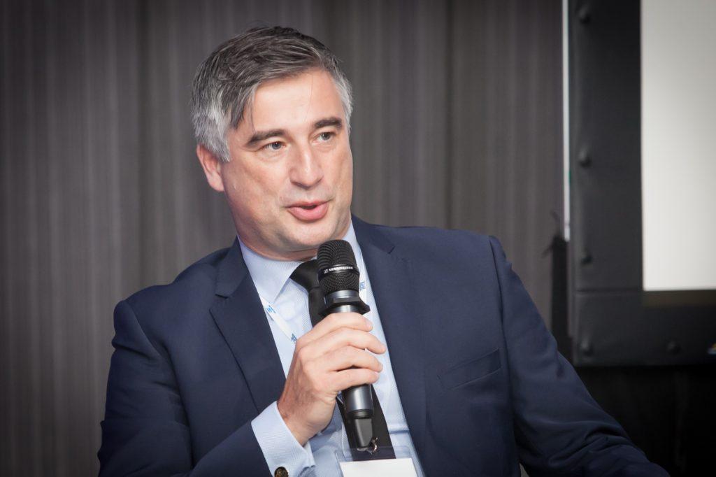 Adam Żołnowski, wiceprezes ds. Finansowych w terminalu kontenerowym DCT Gdańsk mówił o współpracy z biegłymi rewidentami