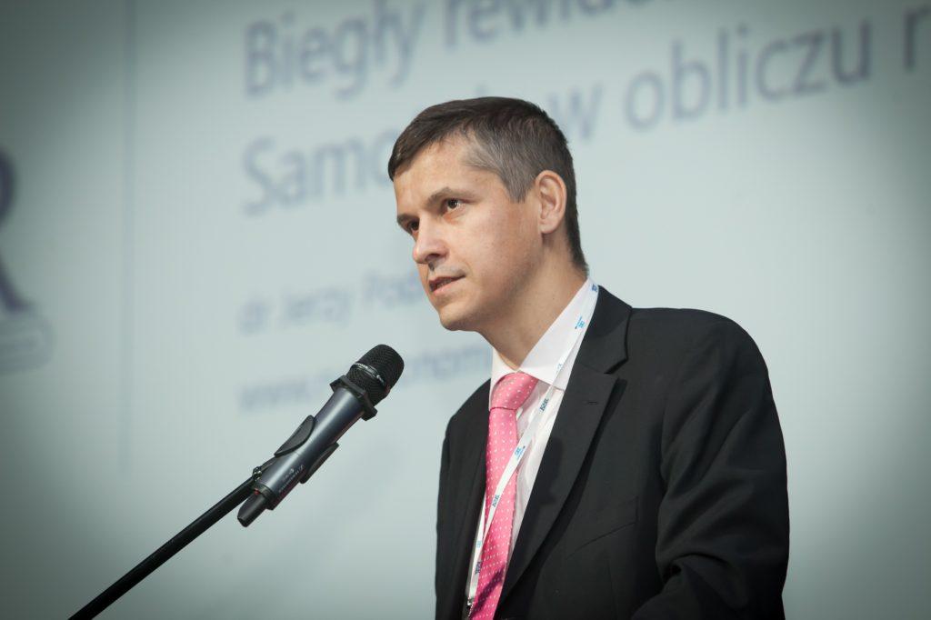 Jerzy Podlewski mówił o ryzyku w pracy audytora